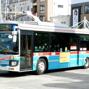 2723.  京急 新型エルガ / 後輪カバー