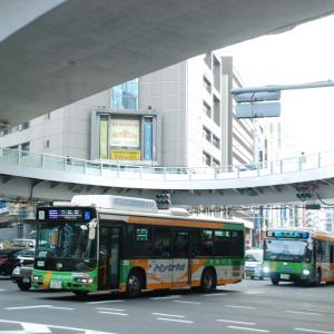 """2726.  """"渋谷駅の"""" 都営バス"""