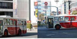 2750.  関東バス 3ドア 車検通過!? 【ネガ風】