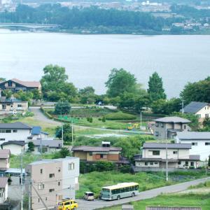 2815.  河口湖と富士急バス / 河口湖→下部→早川 野鳥探索の旅 ②