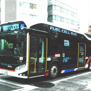 """2822.  東急バス 燃料電池バス """"SORA"""""""
