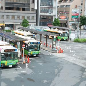 2831.  令和2年の錦糸町駅 / 都営バス