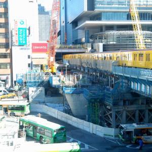 2844.  3年前の渋谷駅 銀座線 & バス