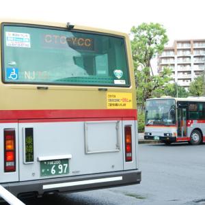 3044.  東急バス ゴールド&ゴールド