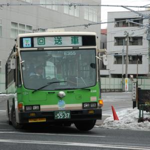 3048.  雪の都営キュービック / 東陽町操車所