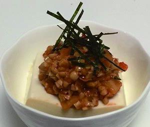 【ハゲレシピ】育毛!キムチ納豆と白ゴマ冷やっこ