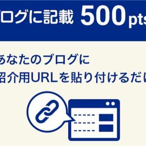 ECナビ ブログに記載で500Pゲット