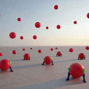 驚きの現代美術の世界!May Parlarの超現実的な世界!