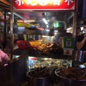 通化街夜市ビブグルマンの滷味&湯圓