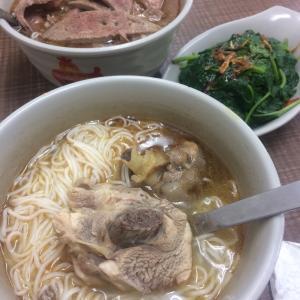 一気に台北の夕飯3日間コスパ高っ