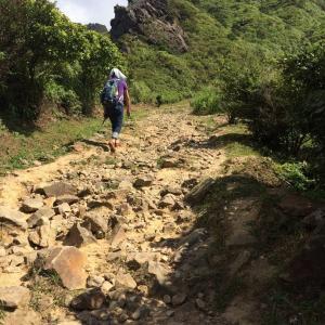 【新北】黄金博物館から登った茶壺山