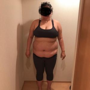 嫁の体重3桁kg