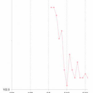 【ダイエット】104.6kgから2週間の変化