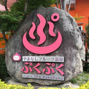 山梨 フルーツ公園&ぷくぷく温泉