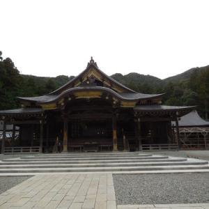 弥彦山と弥彦神社