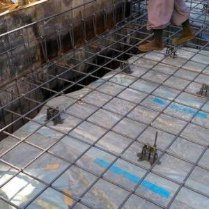 新築工事その2【基礎工事(1)】掘削、砂利敷き、配筋