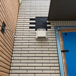 新築工事その11【外壁穴あけ工事】一条工務店i-cube