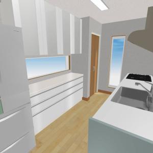 間取り詳細【キッチン】仕様やこだわり、後悔、オプション、電気設備