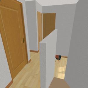 間取り詳細【階段、2階ホール】仕様やこだわり、後悔、オプション、電気設備
