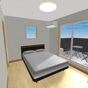 間取り詳細【主寝室、バルコニー、ウォークインクローゼット、書斎】仕様やこだわり、後悔、オプション、電気設備