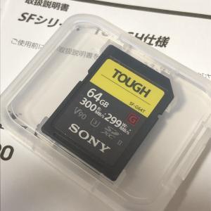 SONY TOUGH SDカードは水中写真の必須アイテムになるだろうか(俺的に)?