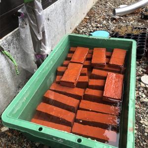 薪ストーブの炉台