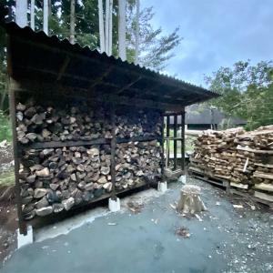 薪棚の収容力