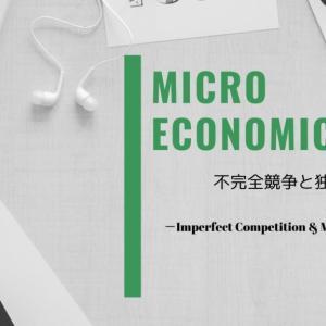 【ミクロ経済学】不完全競争と独占理論【プライスメーカー:価格支配力】