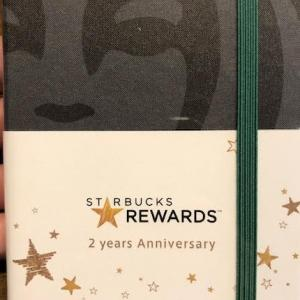 スタバのオリジナルデザインモレスキンと新年の抱負