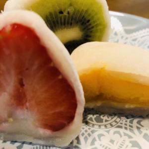 旬の苺を和スイーツ、フルーツ大福で楽しむ。フルーツ大福弁才天