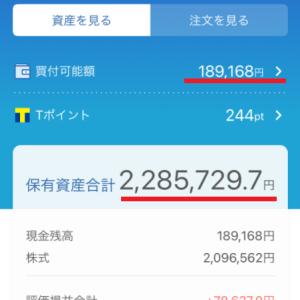 ネオモバ投資経過報告【2020年12月25日】