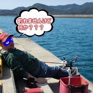 上五島釣行の最終日に、にわ子が吠えた!!