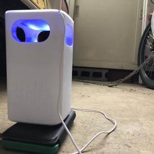 UV光源誘引式捕虫機ポチってみました。