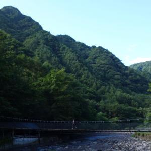 中津川村キャンプ場に行ってきました。