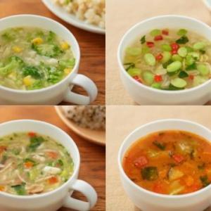 「無印良品の食べるスープ新しい4種類新発売!」