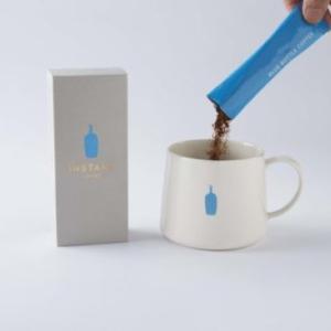 「ブルーボトルコーヒー(インスタント)をお家でも」