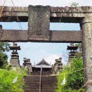 方保田八幡宮・神社裏古墳