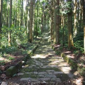 石畳の道(草枕ハイキングコース)