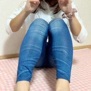 白のロングシャツとレギパン☆