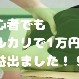 メルカリ初心者が出品したら1ヶ月で1万円以上の利益出た話