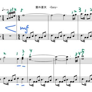 【東方ピアノ】雲外蒼天
