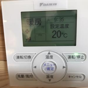 床下エアコン稼動状況 12月
