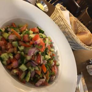 イスラエルはサラダがめちゃくちゃ美味しい