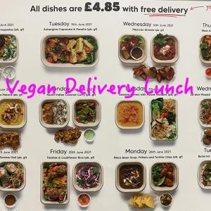 Vegan Delivery Lunch