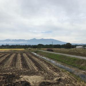 速報 本日初冠雪浅間山