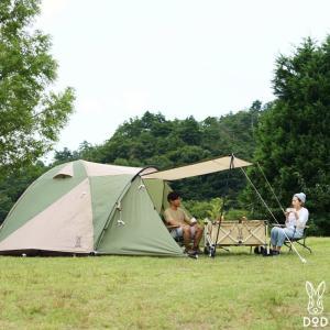 DODから新作テントが来た!テントの中のテント『ザ・テント』!