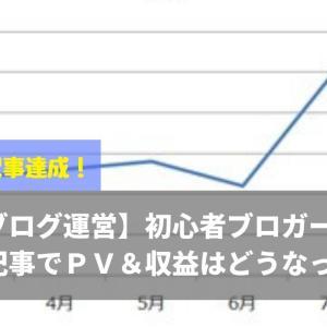 【ブログ運営】初心者ブロガーが40記事でPV&収益はどうなった?