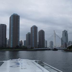 隅田川を行く!歴史ある橋から大都会の洗練された景色へ 2021年 御船印旅行記 その27