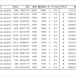 17-7 ビンゴバルーンFREE4個解析途中経過(1)