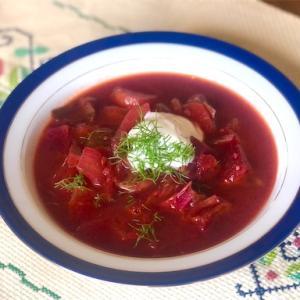 野菜だけで簡単作れてコクもあるボルシチでヘルシー朝ごはん【 #スパイスアンバサダー 】